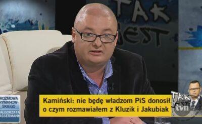 Kamiński Recytuje Wiersz Antoniego Słonimskiego Tvn24