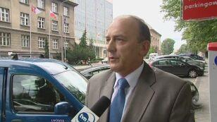 Burmistrz miasta o sprawie komendanta (TVN24)