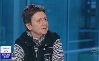 Anna Czerwińska: Kopiec Kościuszki - czyli K2 (TVN24)