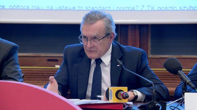 Piotr Gliński złożył poważną deklarację