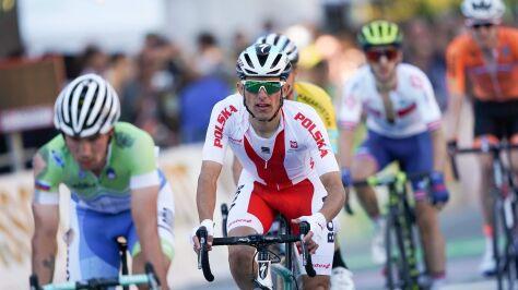 Tylko trzech polskich kolarzy w wyścigu ze startu wspólnego w Tokio