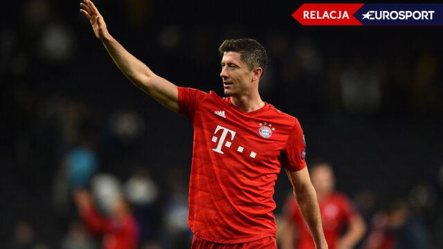 Lewandowski szuka kolejnych goli,  Bayern wygranej w Lidze Mistrzów
