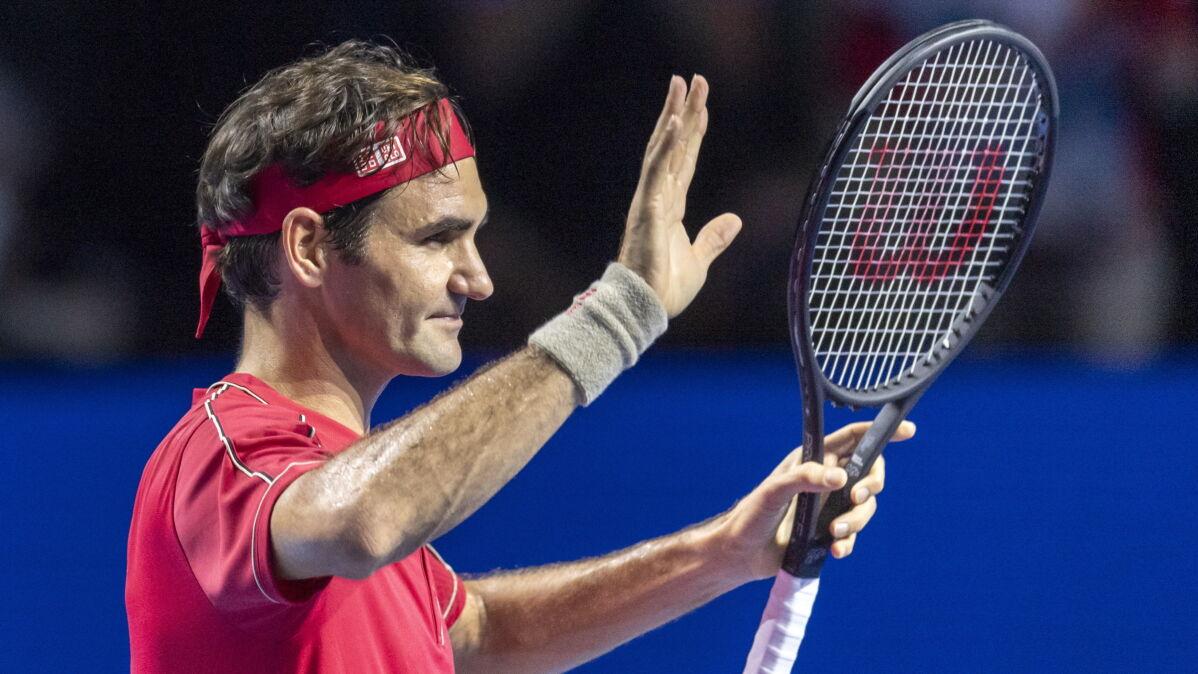1500. mecz Federera. Zabrakło kilka minut do rekordu