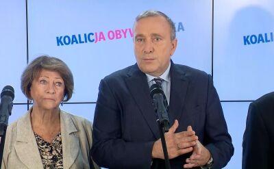 Schetyna: demokracja i zasady są zagrożone w Polsce. Nie zostawimy tego