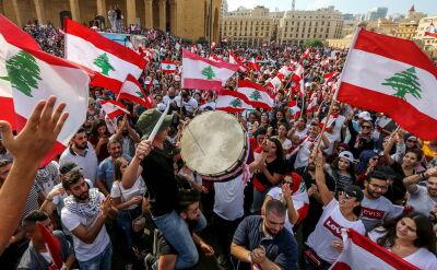 Tysiące ludzi na ulicach Bejrutu domagało się reform ekonomicznych