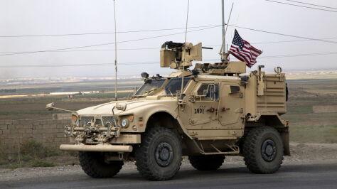 Amerykanie jadą przez Irak, ale  nie mogą tam zostać. Bagdad: podjęliśmy kroki prawne