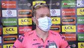 Cort Nielsen po wygraniu 8. etapu Paryż – Nicea