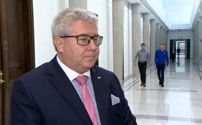 Czarnecki: trzymam kciuki za rząd