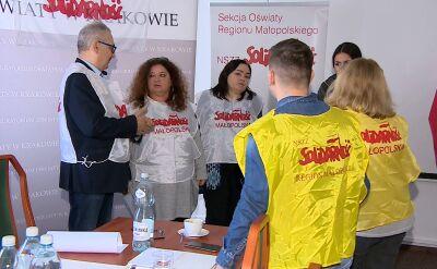 """Nauczyciele z małopolskiej """"Solidarności"""" rozpoczynają głodówkę"""