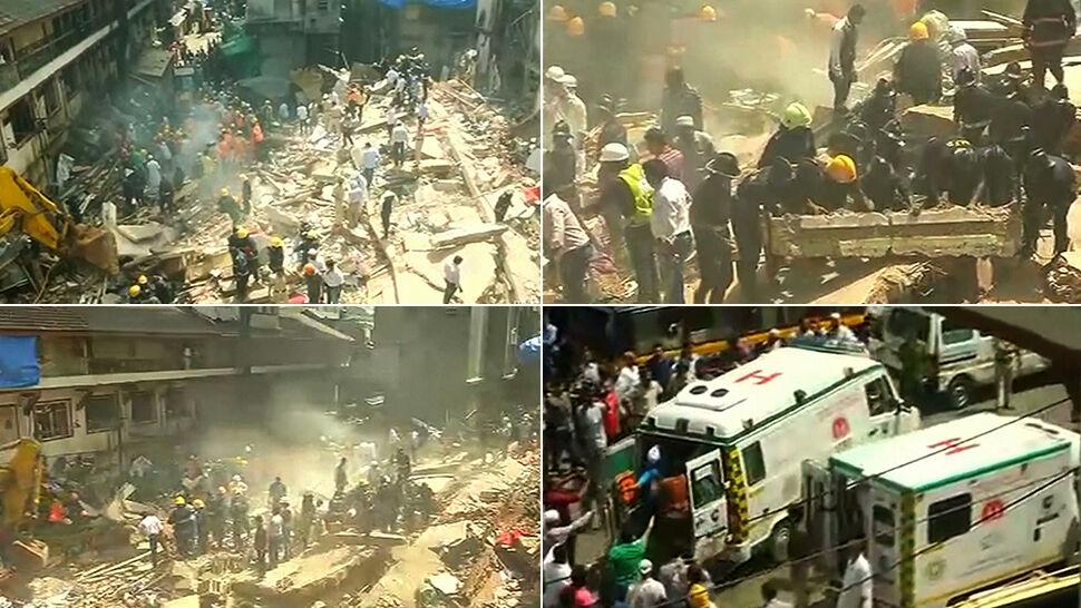 Katastrofa w Bombaju. W zawalonym budynku nielegalny żłobek, bilans ofiar rośnie