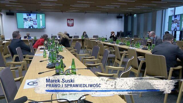 Marek Suski był niewątpliwie gwiazdą podczas komisji sejmowej