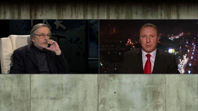 prof. Zbigniew Mikołejko i Jacek Kurski w Tak Jest