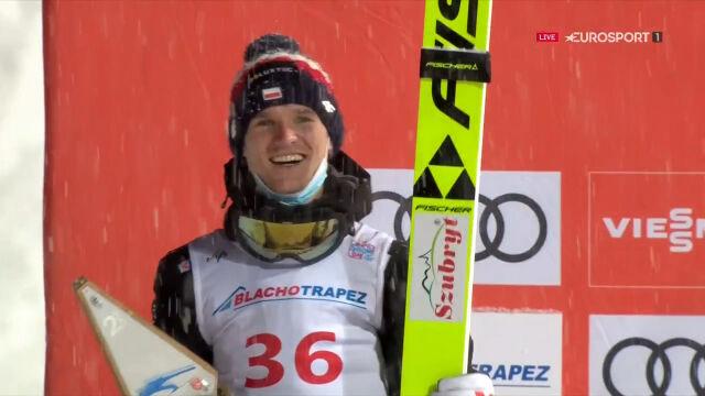 Stękała na podium po sobotnim konkursie w Zakopanem