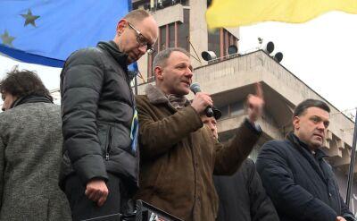 Protasiewicz na Majdanie: Zawsze będziemy was popierali