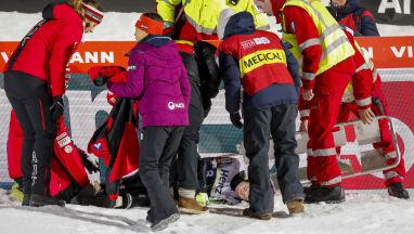 Groźny wypadek na skoczni w Lillehammer. Słowenka straciła przytomność