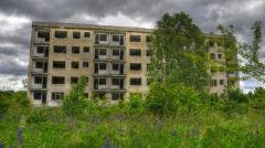 Kłomino, miasto duchów, w 2009 roku