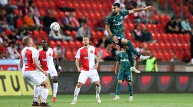 Legia nie dała się mistrzom Czech. Piękne gole w Pradze