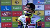 Taaramae po wygraniu 3. etapu Vuelta a Espana