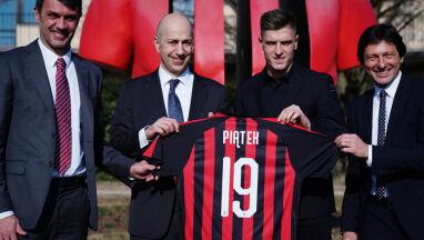 Milan nie dał Piątkowi ulubionego numeru.