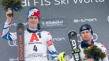 Noel przed Hirscherem w slalomie Kitzbuehel