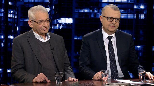 """Ludwik Dorn i Kazimierz Michał Ujazdowski w """"Kropce nad i"""""""
