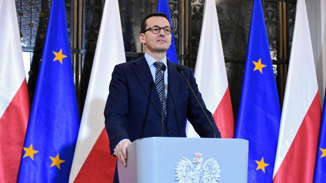 Morawiecki: przedyskutowaliśmy tematykę związaną ze sprawami, które dotyczyły tej dramatycznej zbrodni z 13 stycznia
