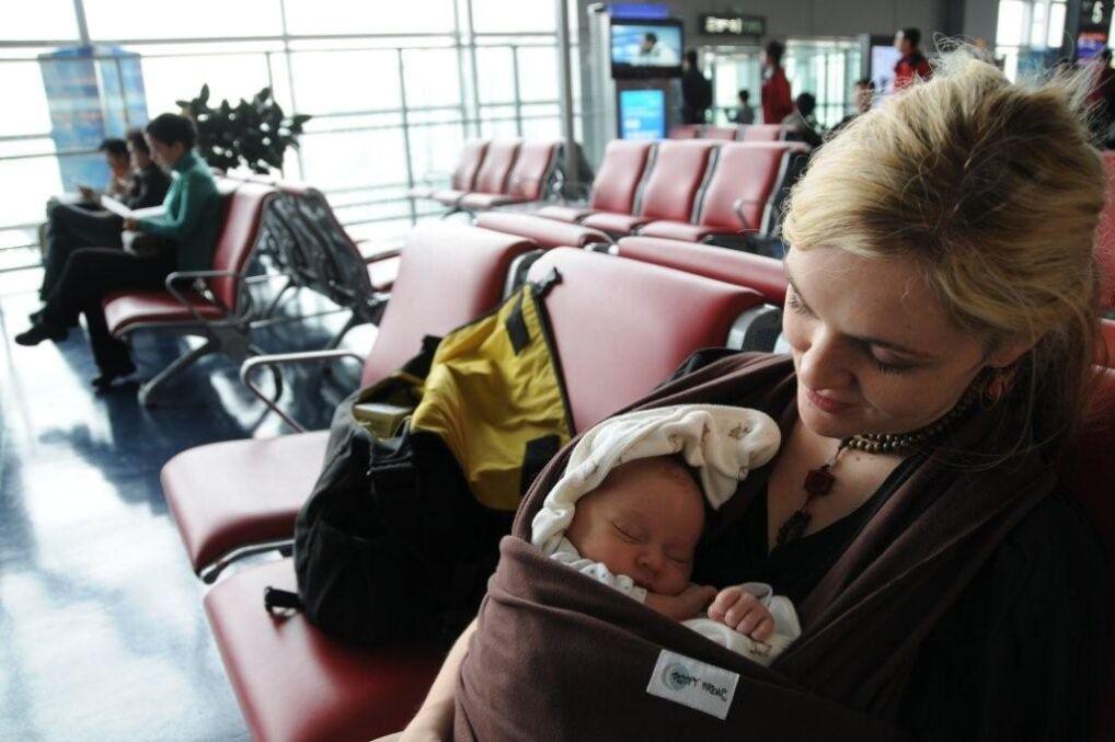 Amaryllis Fox z córką Zoe