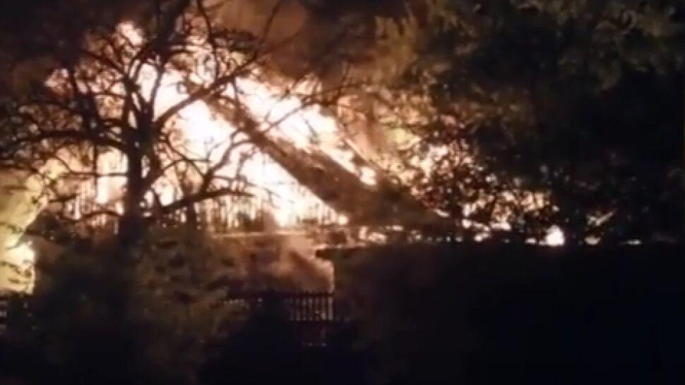"""Dom płonął jak pochodnia. """"Niczego nie udało się uratować"""""""