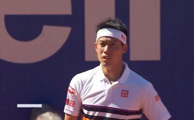 Nishikori awansował do półfinału turnieju ATP w Barcelonie