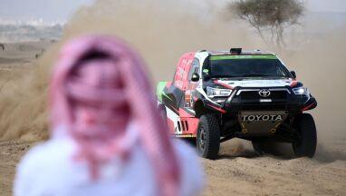 Przygoński przesunięty na siódme miejsce pierwszego etapu Rajdu Dakar