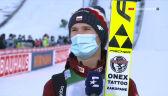 Stękała po konkursie w Garmisch-Partenkirchen