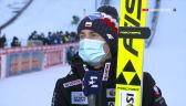 Stoch po konkursie w Garmisch-Partenkirchen