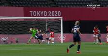 Piłka nożna kobiet. Wielka Brytania – Chile 2:0 (gol Ellen White)