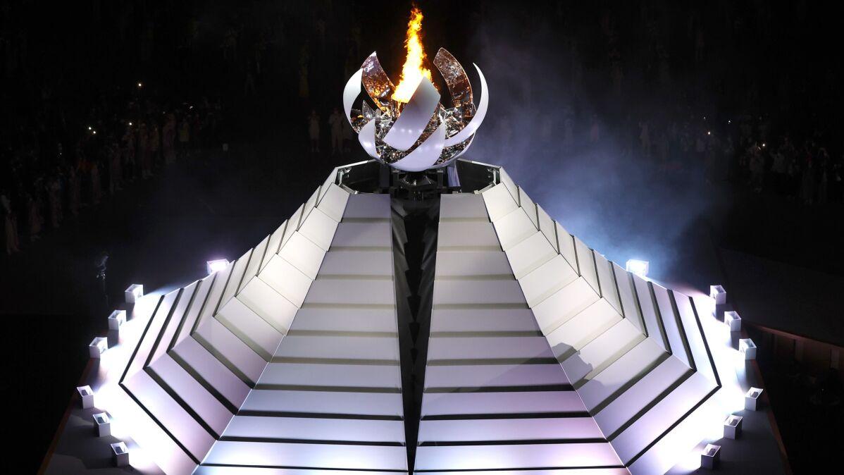 Olimpijski znicz zapłonął w Tokio,  igrzyska  oficjalnie otwarte