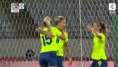 Tokio. Skrót meczu Szwecja - USA w piłce nożnej kobiet
