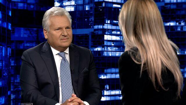 """Aleksander Kwaśniewski  był gościem """"Kropki nad i"""""""