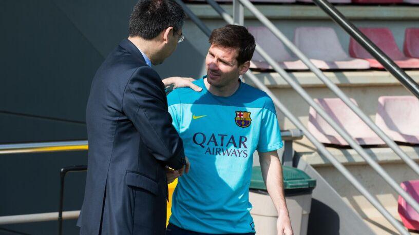 """Messi chwalony przez prezesa. """"Ten gest pokazuje przywiązanie do klubu"""""""