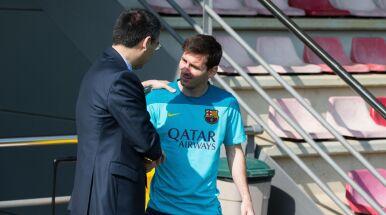 Messi chwalony przez prezesa.