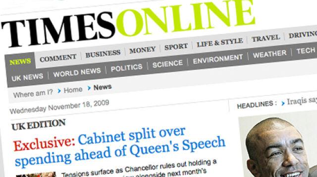 """""""Times"""" chce pieniędzy za czytanie w sieci"""