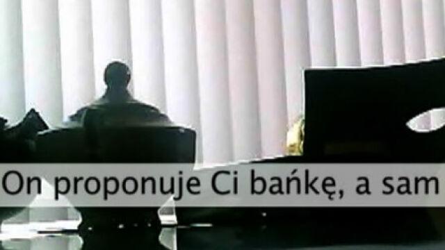 Nagranie z korupcyjną propozycją