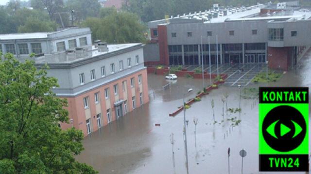 Wielka woda, szkoły zamknięte