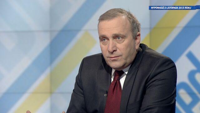 Grzegorz Schetyna o Tomaszu Siemoniaku