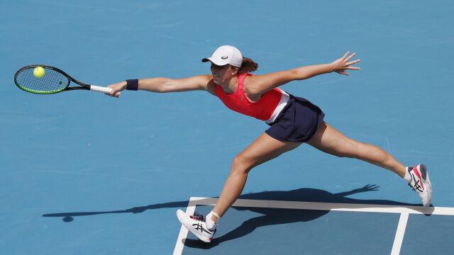 Świątek pokazała charakter, ale odpadła z Australian Open