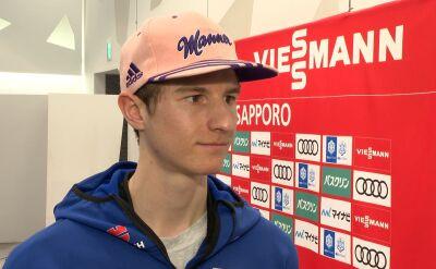 Geiger przed kwalifikacjami w Sapporo