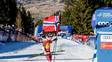 Johaug najszybszą biegaczką narciarską świata.