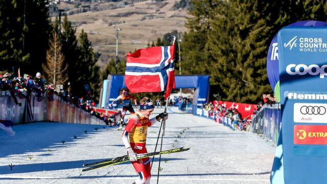 """Johaug najszybszą biegaczką narciarską świata. """"Powinno się jej zakazać używania kijków"""""""
