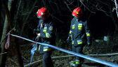 Paweł Frątczak podsumowuje prac straży pożarnej w noc sylwestrową