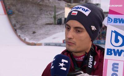 Maciej Kot po kwalifikacjach w Garmisch-Partenkirchen