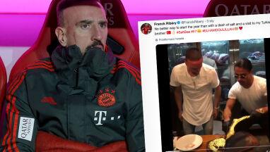 Stek obelg Ribery'ego. Poszło o wizytę w restauracji