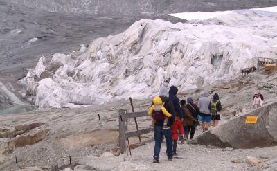 Wielki koc ma ochronić lodowiec przed topnieniem